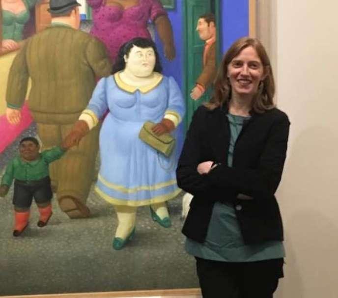Cecilia Braschi, commissaire de l'exposition, le 22 novembre 2017.