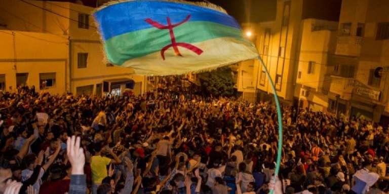Manifestation contre la corruption et la répression à Al-Hoceima, dans le Rif, le 29 mai 2017.