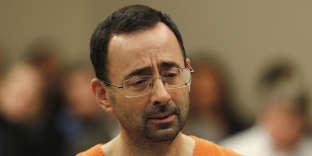 Le docteur Larry Nassar devant le tribunal du Michigan, mercredi 22 novembre.