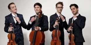 Le jeune quatuor Yako, formé en 2015.