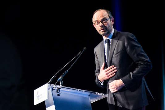 Le premier ministre, Edouard Philippe, à Paris le 21 novembre.