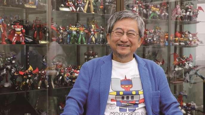 Go Nagai, le créateur de «Goldorak» et «Mazinger Z».