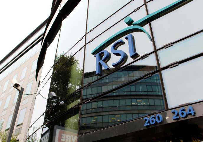 Le siège du RSI, à Saint-Denis.