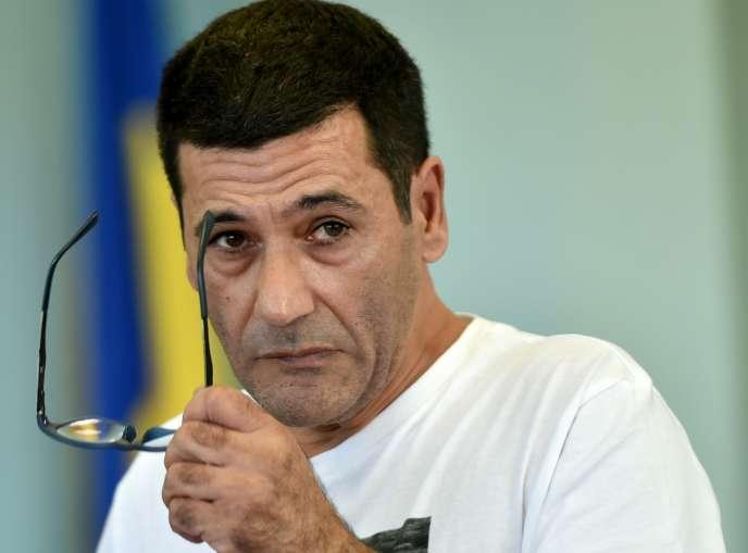 Gilbert Chikli, le 26 septembre à Kiev, en Ukraine.