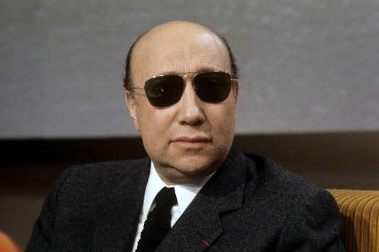 Jean-Pierre Melville en 1970.