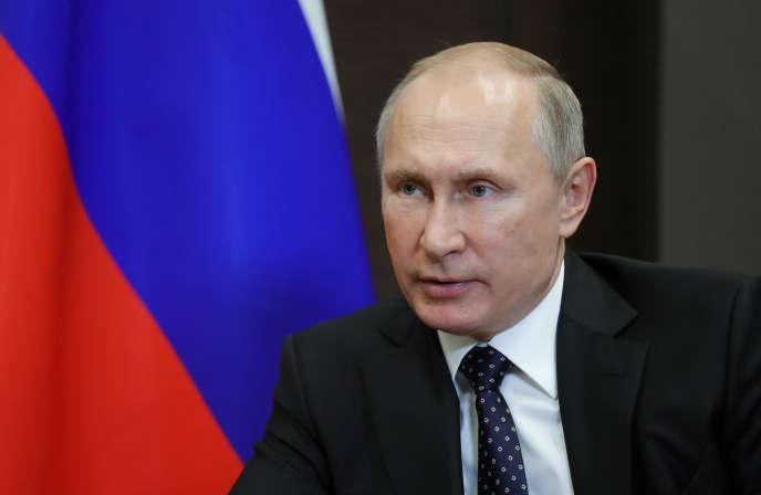 Vladimir Poutine, à Sotchi, le 23 novembre.