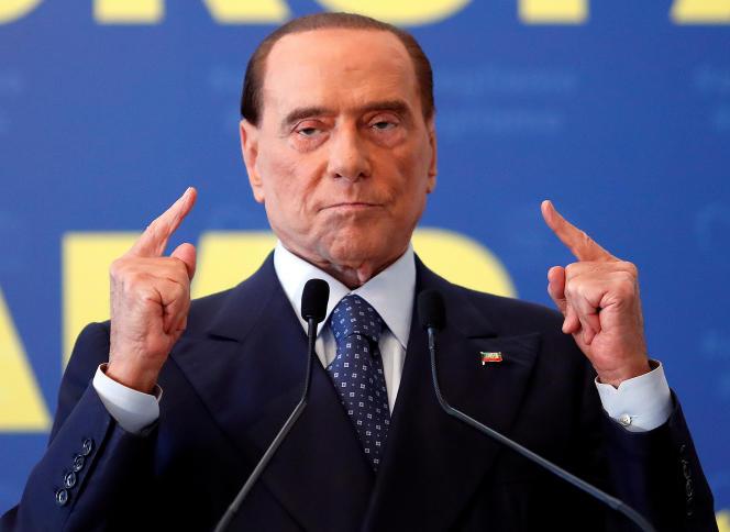 Silvio Berlusconi à Fiuggi, en Italie, le 17 septembre.