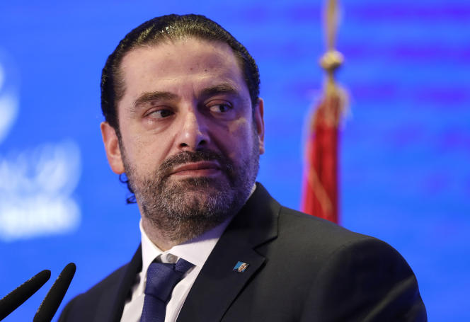 Le premier ministre libanais, Saad Hariri, le 23 novembre 2017.
