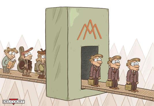 Couverture de la BD « Rentre dans le moule» par Cilvert, chez Delcourt.