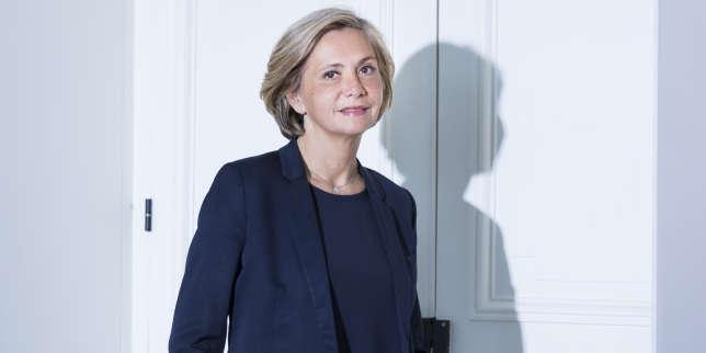 Valérie Pécresse au siège du conseil régional d'Ile-de-France, à Paris, le 22 novembre.