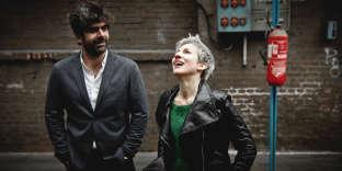 Benjamin Moussay et Claudia Solal à Bonnières-sur-Seine (Yvelines), en novembre 2017.