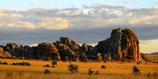 Le parc national de l'Isalo, au cœur de l'île de Madagascar.