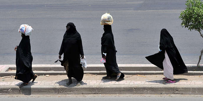 Des Africaines à Djeddah, en Arabie saoudite, en 2011.