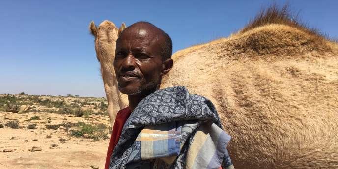 Au Somaliland, Gedi, pasteur nomade, a perdu près de la moitié de ses dromadaires avec la sécheresse.