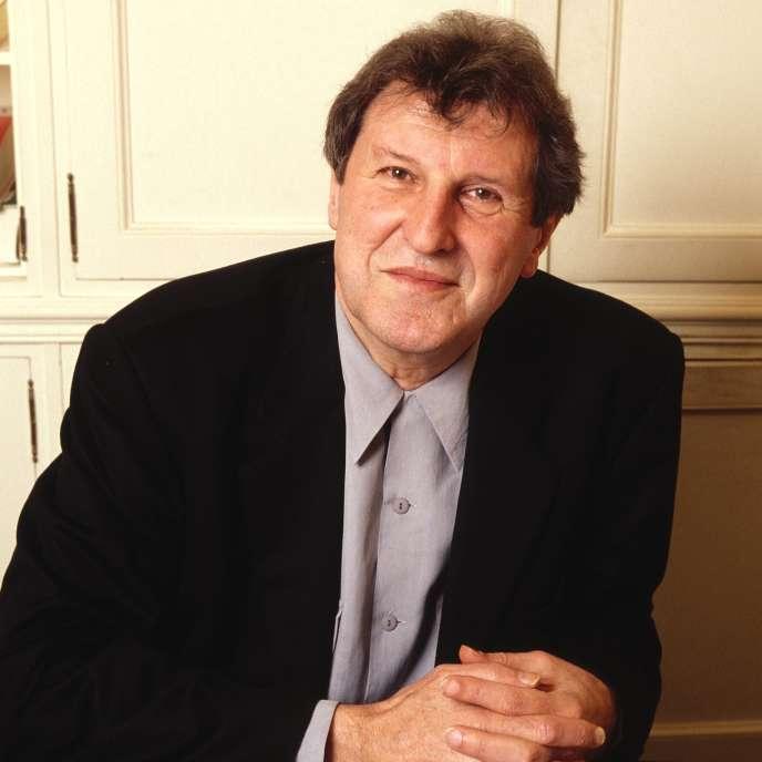 Gérard Bourgadier, en 1994. L'éditeur est mort le 6 novembre à Paris.