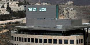Usine Teva à Jérusalem, le 8 février .