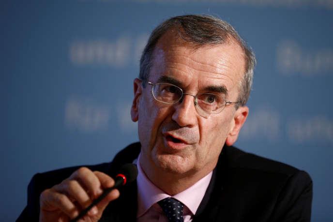 Le gouverneur de la Banque de France, Francois Villeroy de Galhau, lors d'un sommet franco-allemand, en septembre 2016.