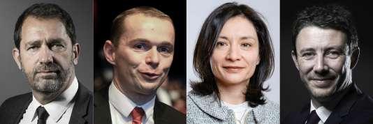 Christophe Castaner reste au gouvernement. Olivier Dussopt et Delphine Gény-Stephann font leur entrée et Benjamin Griveaux est promu porte-parole.