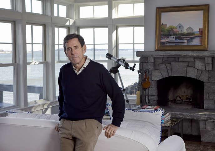 Edward Blum pose à son domicile de South Thomaston, dans le Maine (nord-est des Etats-Unis), en novembre 2012.