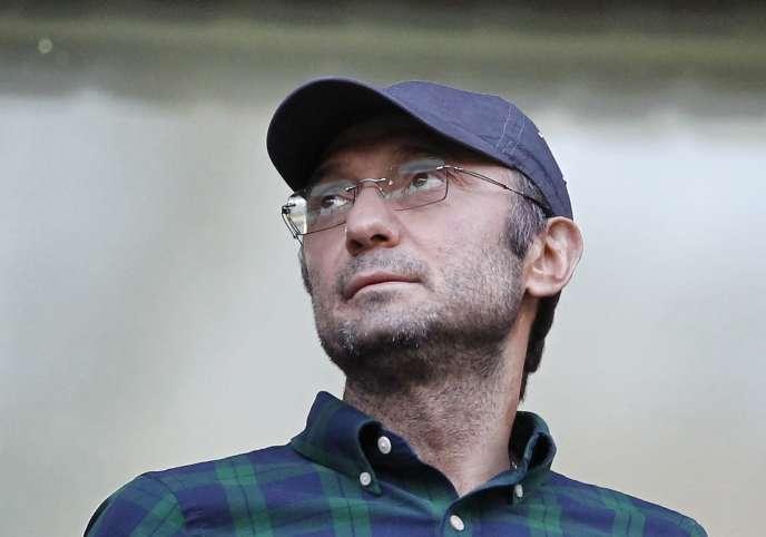 Souleïman Kerimov, à Moscou, en août 2012.