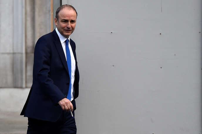 Le leader du parti d'opposition le Fianna Fail, Micheal Martin, vendredi 24 novembre.