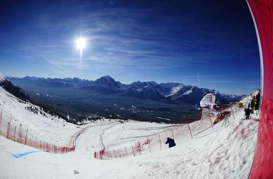 Le départ sera un moment stratégique de la descente des skieurs français, samedi25novembre à Lake Louise.
