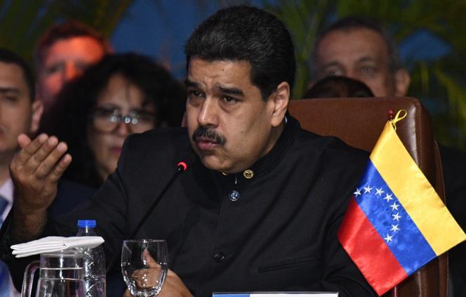 Le président vénézuélien, Nicolas Maduro, le 24 novembre 2017.