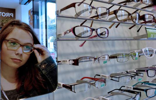 Les lunettes ne sont actuellement remboursées qu'à 4% par la Sécurité sociale.