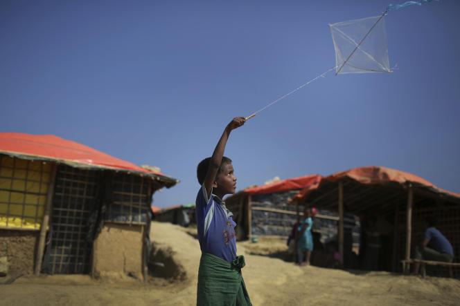 Un enfant Rohingya dans le camp de réfugiés deKutupalong, au Bangladesh, le 21 novembre.