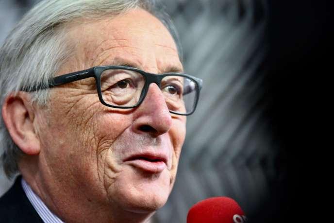 Jean-Claude Juncker à Bruxelles, le 24 novembre.