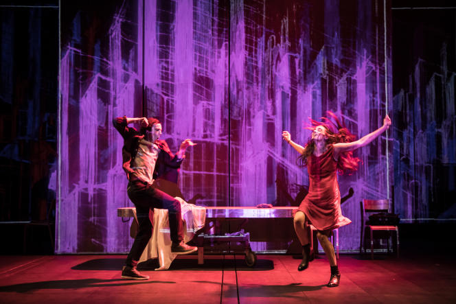 « Tous des oiseaux», de et par Wajdi Mouawad, au Théâtre national de la Colline, à Paris.
