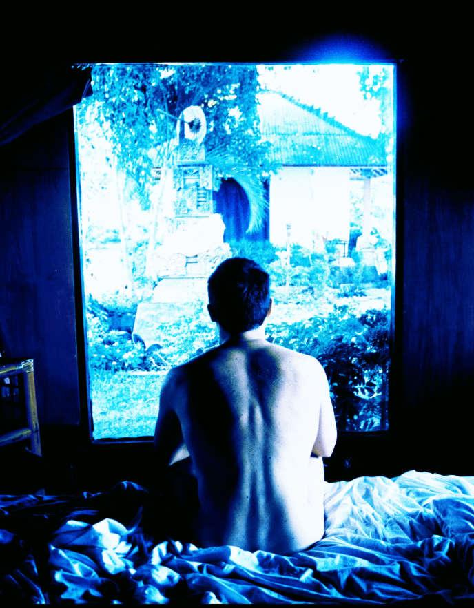 Chambre bleue, Indonésie, février 1999.