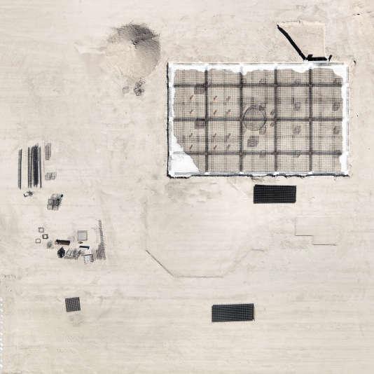 Depuis près de dix ans, Jérémie Lenoir photographie des paysages contemporains. Il s'est particulièrement intéressé aux modifications des frontières ville-campagne à travers son projet «Marges». Ci-contre, « Chantier, Achères», 2012.