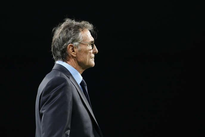 Le sélectionneur de l'équipe de France de rugby Guy Novès, le 25 novembre.