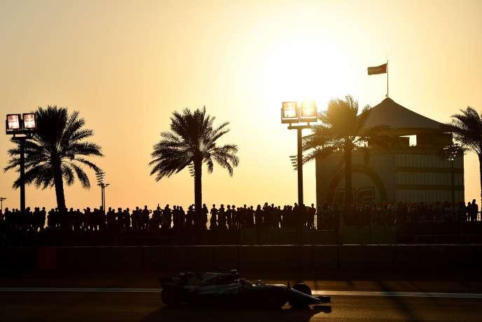 Valtteri Bottas le 25 novembre à Abou Dhabi.