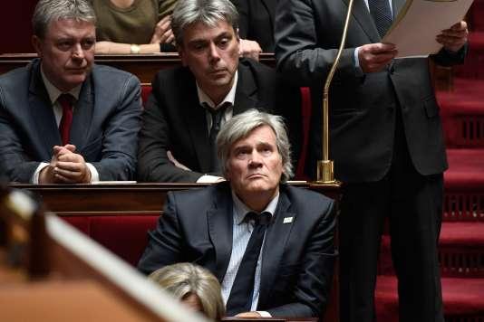 La socialiste Stéphane Le Foll lors d'une séance à l'Assemblée nationale, le 14 novembre.
