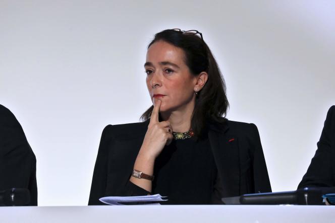 La présidente de France Télévisions, Delphine Ernotte, le 25 novembre, à Paris.