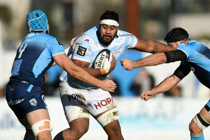 Le Racing a gagné face au leader Montpellier pour son dernier match au stade Yves-du-Manoir.