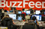 Le siège de la compagnie BuzzFeed, à New York, en janvier 2014.