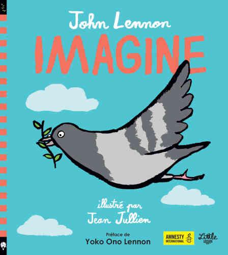 «Ce livre est un album sur la paix, celle qui nous permet de vivre heureux en toute sécurité. Pour que la paix prospère, il est vital de traiter tout un chacun de manière bienveillante, juste et équitable.» C'est par ces mots que l'ONG Amnesty International cite l'ouvrage. Adaptation des paroles de la chanson intemporelle de John Lennon, cet album, créé en collaboration avec cette organisation, tend à concevoir et imaginer un monde meilleur fait de valeurs communes –comme l'équité, la vérité, l'égalité, l'hospitalité et la sécurité. Pour tous.