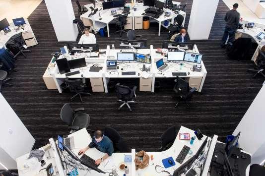 Salle de la rédaction du «Washington Post», en novembre.