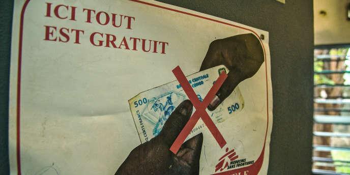 Le projet MSF AIDS en République démocratique du Congo vise à sensibiliser, soigner et distribuer gratuitement les antirétroviraux aux malades du sida.