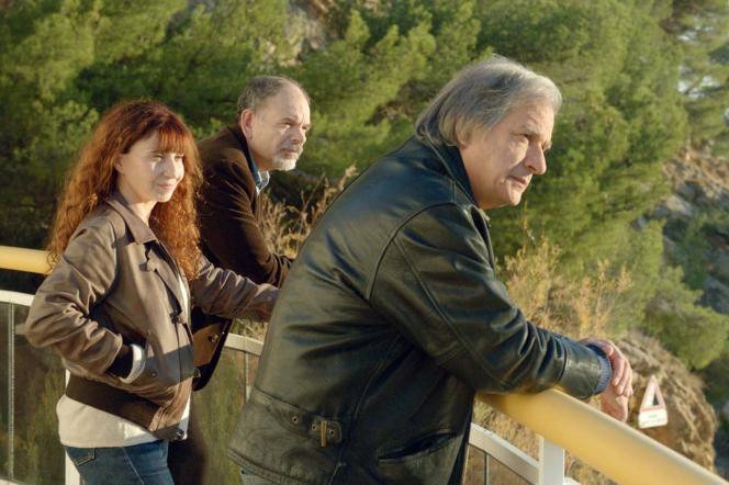 Jean-Pierre Darroussin, Ariane Ascaride et Gérard Meylan dans« La Villa», de Robert Guédiguian.