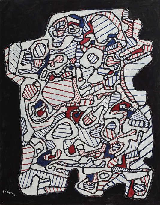 Jean Dubuffet, «Demeure I», 1966.