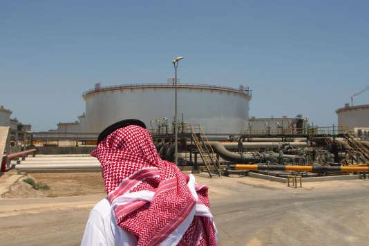 Un site de la compagnie Aramco, àRas Tanura, en Arabie saoudite,19 août 2015.