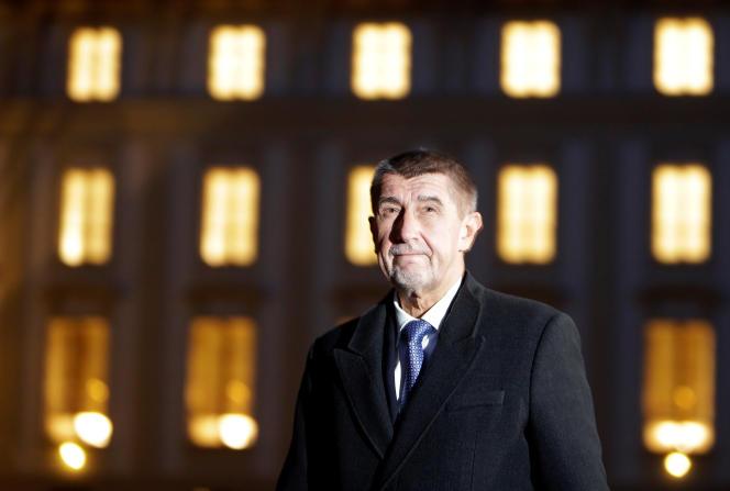Andrej Babis, à Prague, le 28 novembre 2017.