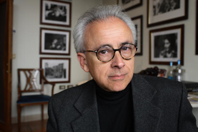 Le professeur Antonio Damasio, en 2012.