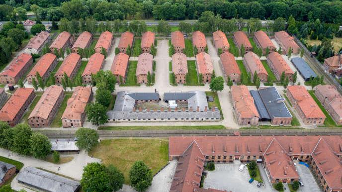 Le camp de concentration nazi d'Auschwitz I, tel qu'il est maintenu de nos jours à Oswiecim, en Pologne.