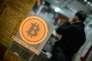 Le permier magasin qui accepte le bitcoin à Hongkong, 28 février 2014.