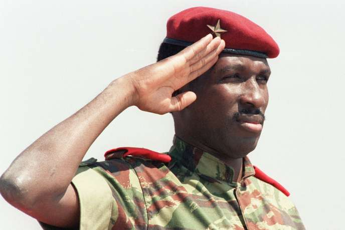 Thomas Sankara, le 31août 1986, à Harare, capitale du Zimbabwe.